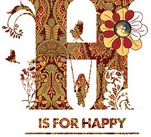 Happy Card by Narelle Craven