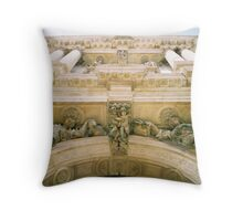 Architectural detail, Rome Throw Pillow