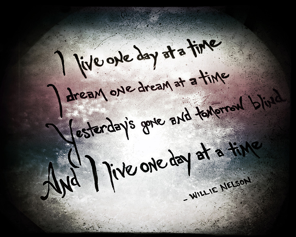 One Day at a Time by Trish Mistric