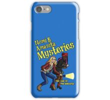 Nomi and Amanita Mysteries iPhone Case/Skin