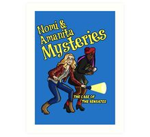 Nomi and Amanita Mysteries Art Print