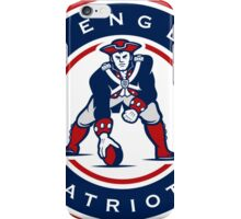 New England Patriots logo 4 iPhone Case/Skin