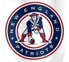 New England Patriots logo 4 Poster