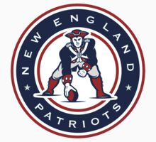 New England Patriots logo 4 One Piece - Short Sleeve
