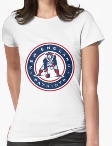 New England Patriots logo 4 Womens Fitted T-Shirt