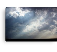 Shining Through Canvas Print