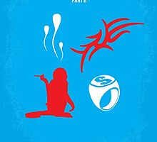 No145 My THE HANGOVER Part II minimal movie poster by JinYong