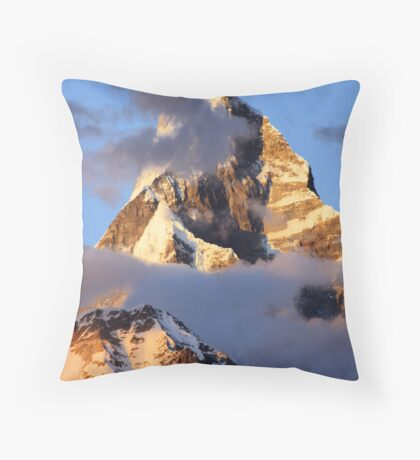 Majestic Machapucchare Throw Pillow