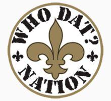 New Orleans Saints logo 3 Kids Tee