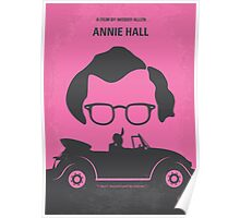 No147 My Annie Hall minimal movie poster Poster