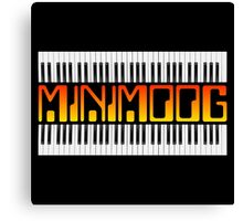 Vintage Minimoog  Synth Canvas Print