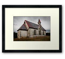 Wairio Church, Southland Framed Print