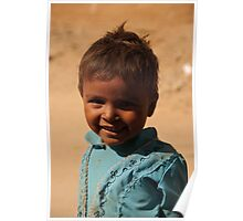 Little indian girl Poster
