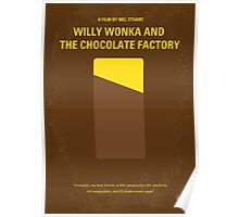 No149 My willy wonka and the chocolate factory minimal movie poster Poster