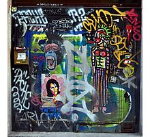 Graffiti collage Photographic Print