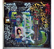 Graffiti collage Photographic Print