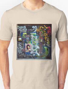 Graffiti collage Unisex T-Shirt