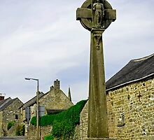 Market Cross, Crich by Rod Johnson