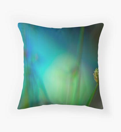 Grass Seed Throw Pillow