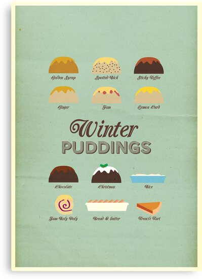 Winter Puddings - A selection of British Classics by Stephen Wildish