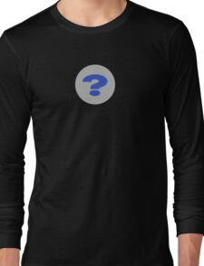 Question Mark T-Shirt - Questioning Everything Clothing iPhone Case Long Sleeve T-Shirt