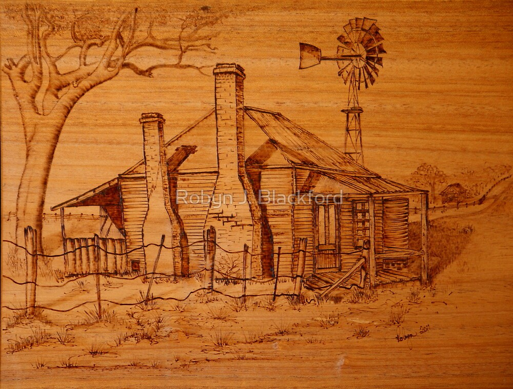The Old Homestead by aussiebushstick
