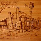 The Old Homestead by aussiebushstick