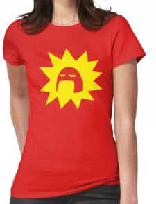 Super!! Womens Fitted T-Shirt