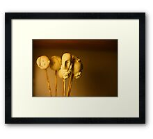 more heads are better than none Framed Print