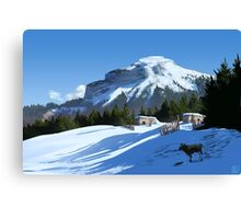 The Secluded Small Holding Canvas Print
