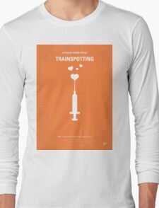 No152 My TRAINSPOTTING minimal movie poster Long Sleeve T-Shirt