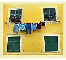 Washing day Photographic Print