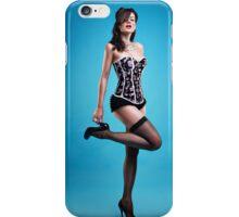 """""""Strike a pose"""" Pin up Girl  iPhone Case/Skin"""