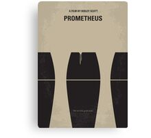 No157 My Prometheus minimal movie poster Canvas Print