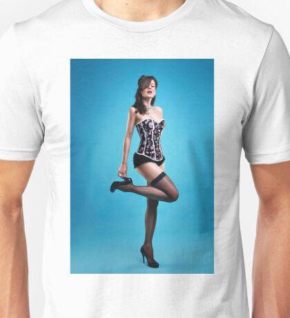 """Strike a pose"" Pin up Girl  Unisex T-Shirt"
