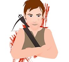 The Walking Dead - Daryl Dixon by Maria Paola R
