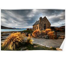 Church of the Good Shepherd, Lake Tekapo Poster