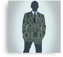 Skyfall - James Bond: The Old Fashioned Way Canvas Print