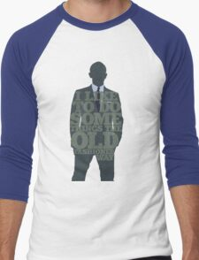 Skyfall - James Bond: The Old Fashioned Way Men's Baseball ¾ T-Shirt