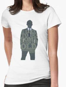 Skyfall - James Bond: The Old Fashioned Way Womens Fitted T-Shirt