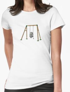 Lonely Robot on a Swing T-Shirt