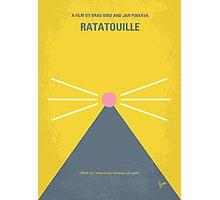 No163 My Ratatouille minimal movie poster Photographic Print