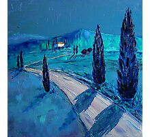 Tuscan night Photographic Print
