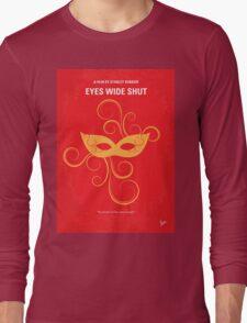No164 My Eyes wide shut minimal movie poster Long Sleeve T-Shirt