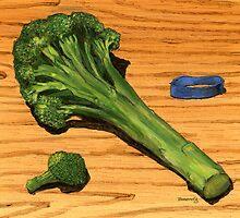 spear of good health...broccoli by bernzweig