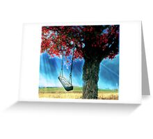 Paradise on earth........... Greeting Card