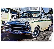 Ford Cortina GT Poster