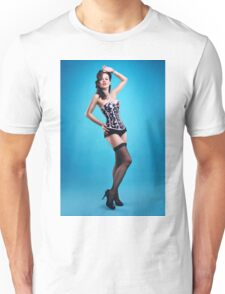 """The girls next door""  Pin up Girl  Unisex T-Shirt"
