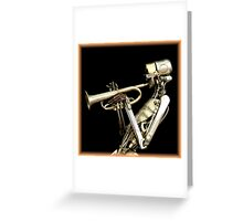 Metal Band ~ Part One Greeting Card