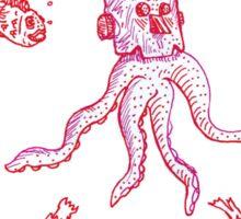 Underwater character Sticker